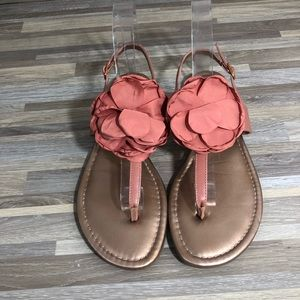 BGBG PL-KENDA Rose Gold Pink Thing Sandals size 8